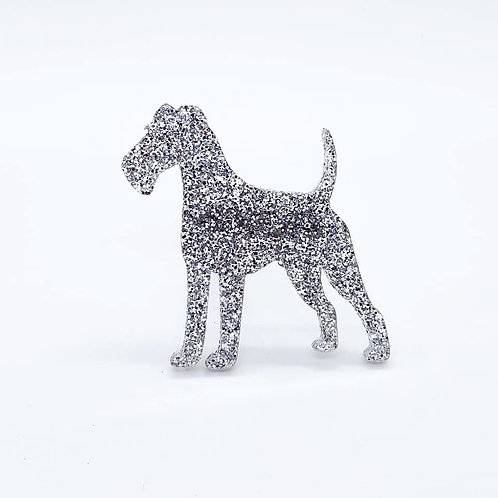 IRISH TERRIER - Premium Silver