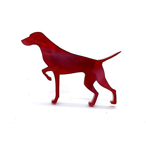 GERMAN SHORTHAIRED POINTER (POINTING) - Phoenix Red