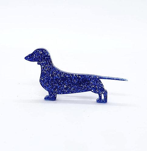 DACHSHUND (SMOOTH HAIRED) - Premium Royal Blue