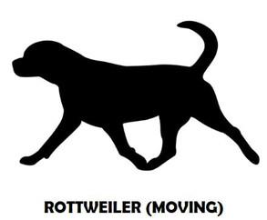 6Silhouette Sample - Rottweiler (Moving)