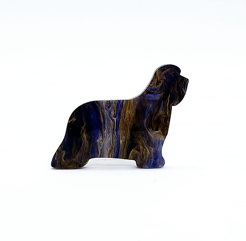 BEARDED COLLIE - Phoenix Blue & Black