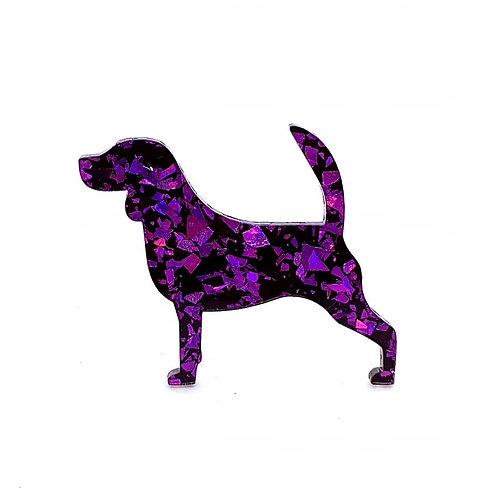 BEAGLE - Chunky Shard Violet