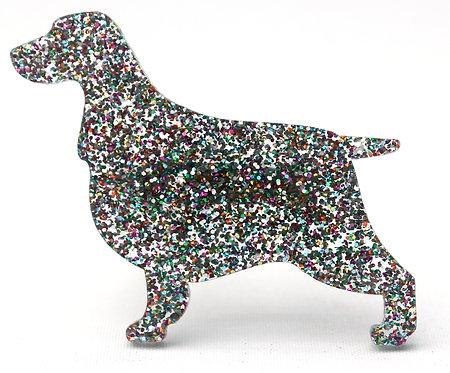 COCKER SPANIEL - Premium Confetti