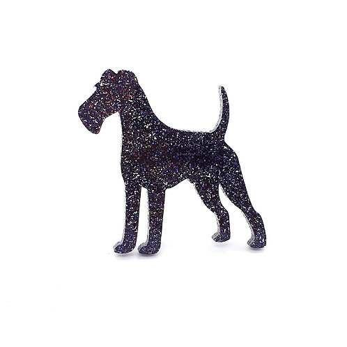 IRISH TERRIER - Premium Holographic Black