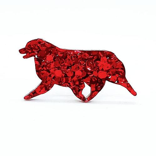 AUSTRALIAN SHEPHERD (MOVING) - Chunky Red
