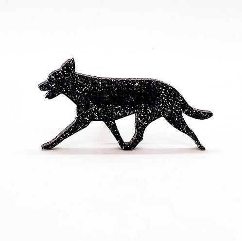 AUSTRALIAN KELPIE (MOVING) - Premium Holographic Black