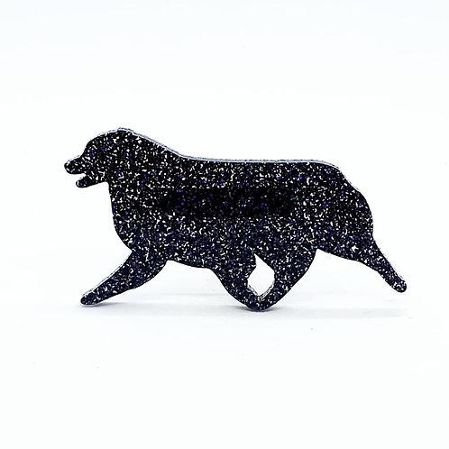 AUSTRALIAN SHEPHERD (MOVING) - Premium Holographic Black