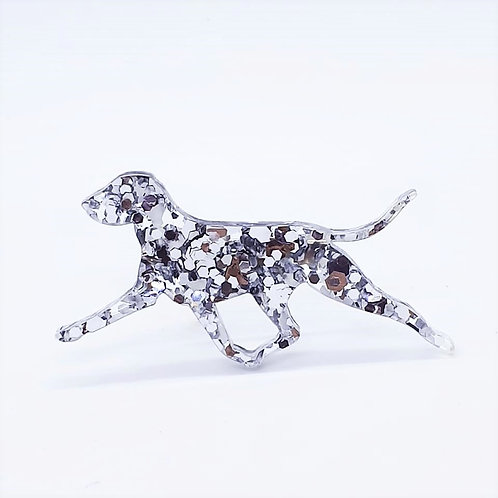 BRACCO ITALIANO (MOVING) - Chunky Silver