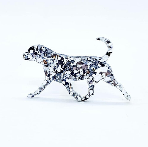 ROTTWEILER (MOVING) - Chunky Silver