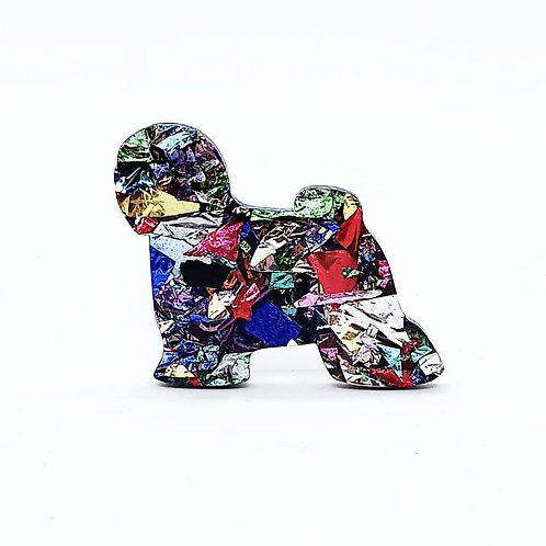 TIBETAN TERRIER - Chunky Kaleidoscope