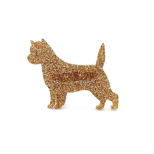 CAIRN TERRIER - Premium Holographic Amber
