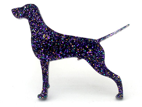 GERMAN SHORTHAIRED POINTER - Premium Holographic Purple