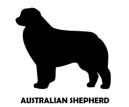 5Silhouette Sample - Australian Shepherd