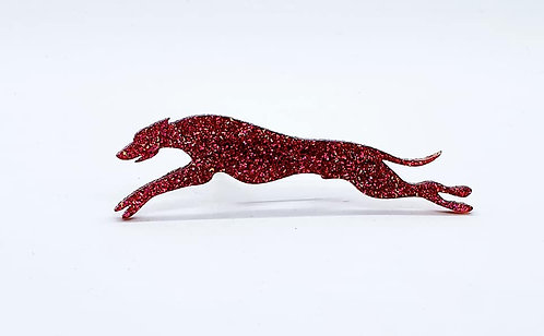 WHIPPET (OUTSTRETCHED) - Premium Magenta