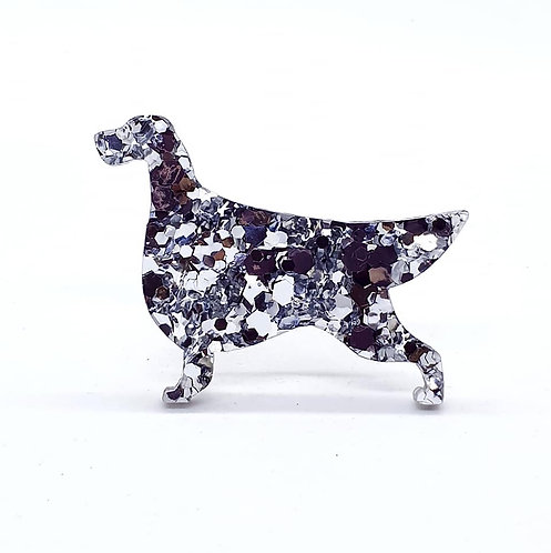 ENGLISH SETTER - Chunky Silver