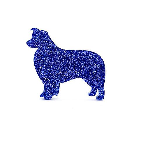 BORDER COLLIE - Premium Royal Blue
