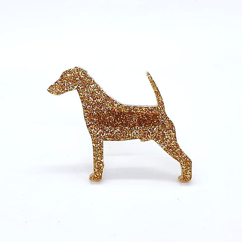 FOX TERRIER (SMOOTH) - Premium Holographic Amber