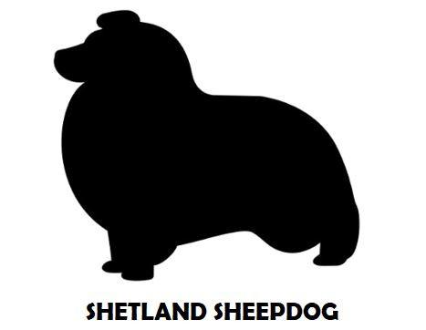 5Silhouette Sample - Shetland Sheepdog.J