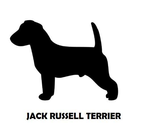 2Silhouette Sample - Jack Russell Terrie