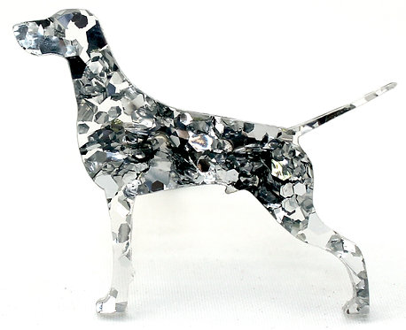 GERMAN SHORTHAIRED POINTER - Chunky Silver