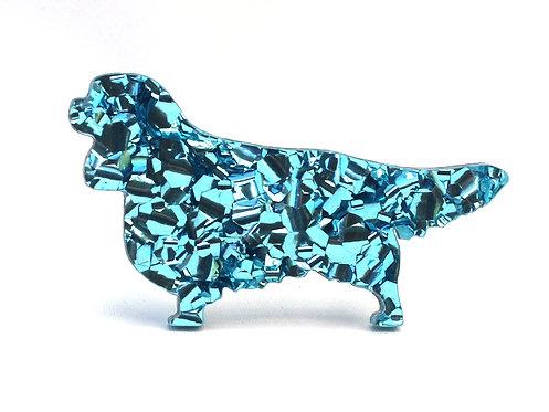 CAVALIER KING CHARLES SPANIEL - Chunky Baby Blue