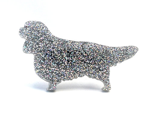 CAVALIER KING CHARLES SPANIEL - Premium Holographic Silver