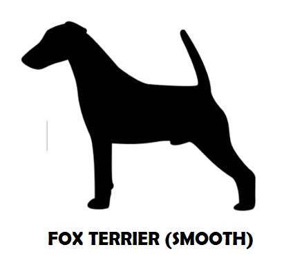 2Silhouette Sample - Fox Terrier (Smooth