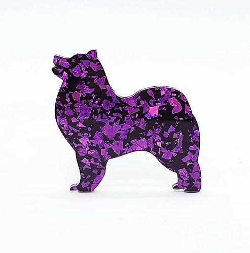 SAMOYED - Chunky Shard Violet