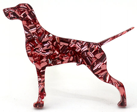 GERMAN SHORTHAIRED POINTER - Chunky Rose Gold
