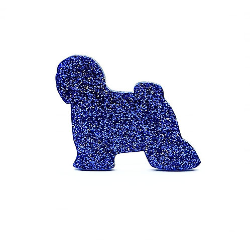 TIBETAN TERRIER - Premium Royal Blue
