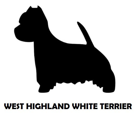2Silhouette Sample - West Highland White