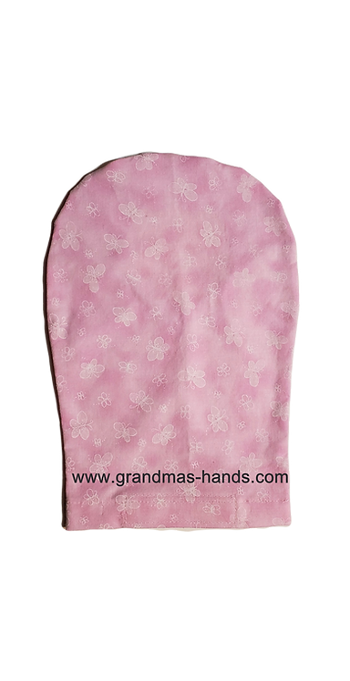 Pink Butterfly- Adult Ostomy Bag Cover