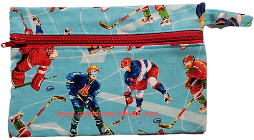 Hockey Diabetic Accessory Carrying Case