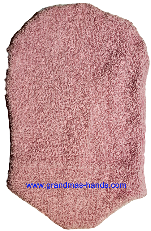 Pink Terry Cloth - Adult Urostomy Bag Cover
