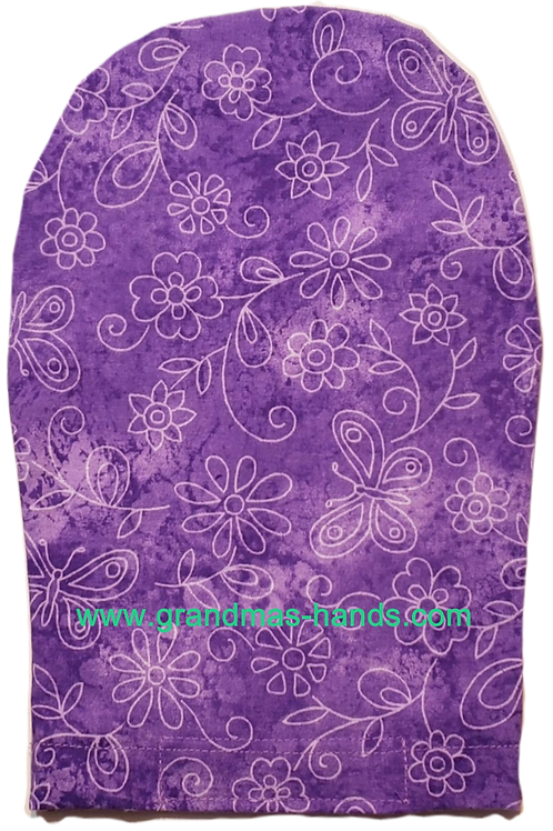 Lilac Flowers - Adult Ostomy Bag Cover