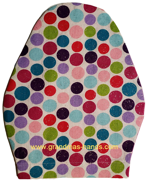 Multi-Coloured Dots - Children's Urostomy Bag Cover