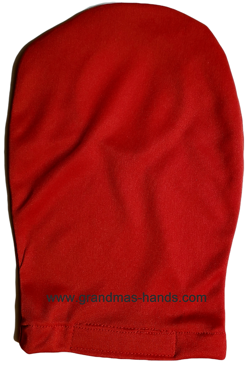 Red - Adult Stretchy Ostomy Bag Cover