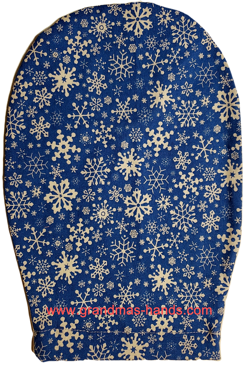 Snowflakes - Childrens Ostomy Bag Cover