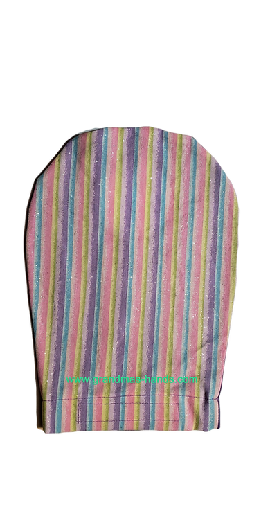 Rainbow Striped - Adult Ostomy Bag Cover