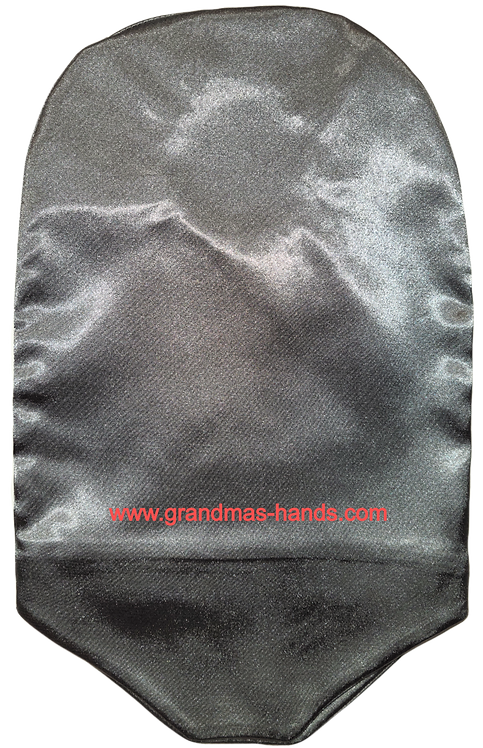 Grey - Adult Satin Urostomy Bag Cover