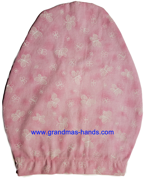 Pink Butterflies - Children's Urostomy Bag Cover