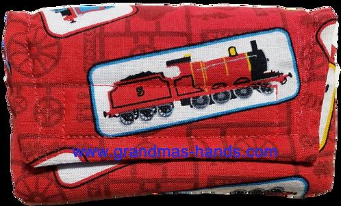 Red Train - Insulin Pump Pouch