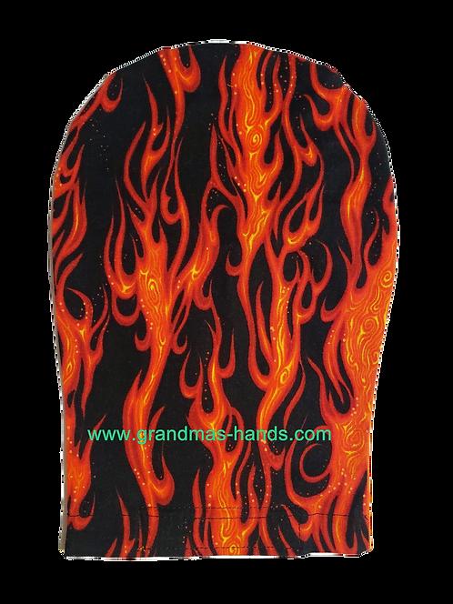 Black Flame - Adult Ostomy Bag Cover