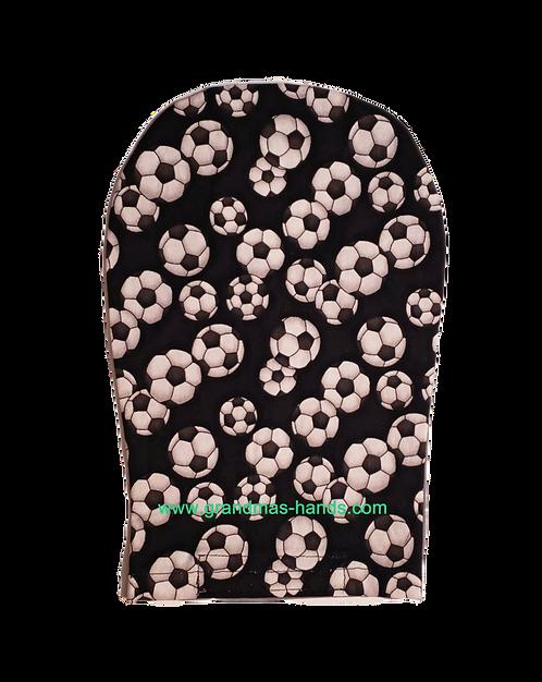 Black Soccer - Adult Ostomy Bag Cover