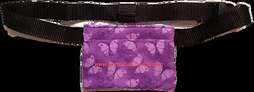 Purple Butterflies - Allerject™/Auvi-Q™ Pouch