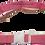 Thumbnail: Medium Pink Belt with White Buckle - Insulin Pump Pouch Belt