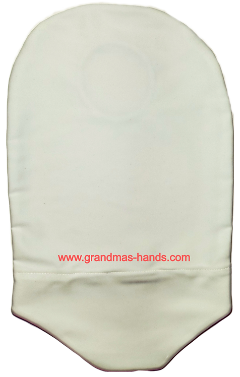 White - Adult Stretchy Urostomy Bag Cover