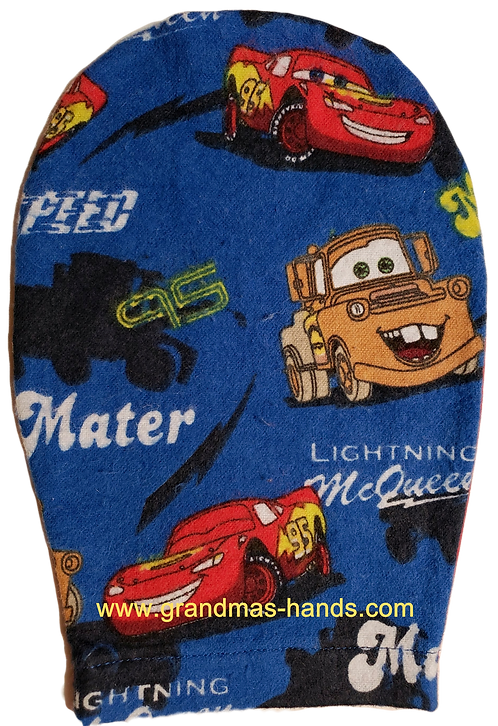 Lightening McQueen - Childrens Ostomy Bag Cover