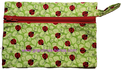 Lady Bug Diabetic Accessory Carrying Case