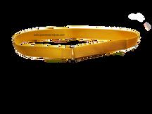 Yellow Velcro Insulin Pump Pouch Belt